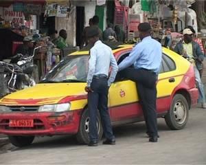 Une scène insolite dans les rues de Conakry