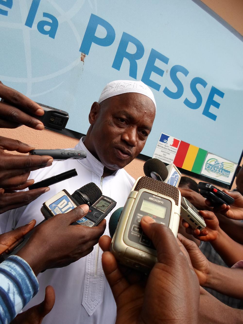 Le Correspondant RFI / AFP à CONAKRY